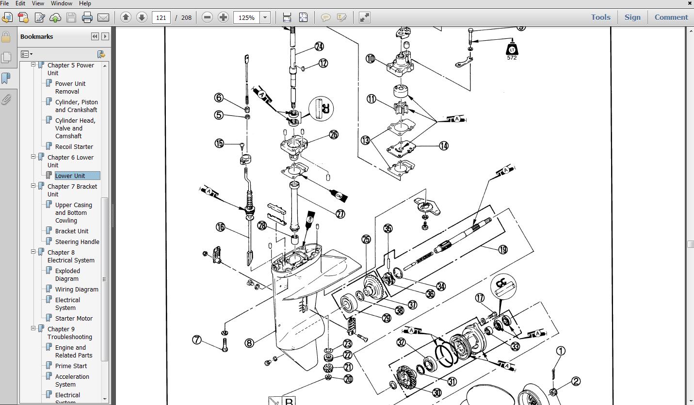 Thumbnail 2000 Yamaha F40TLRX